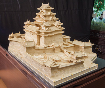 Himeji Castle (Largest in world ivory sculpture)