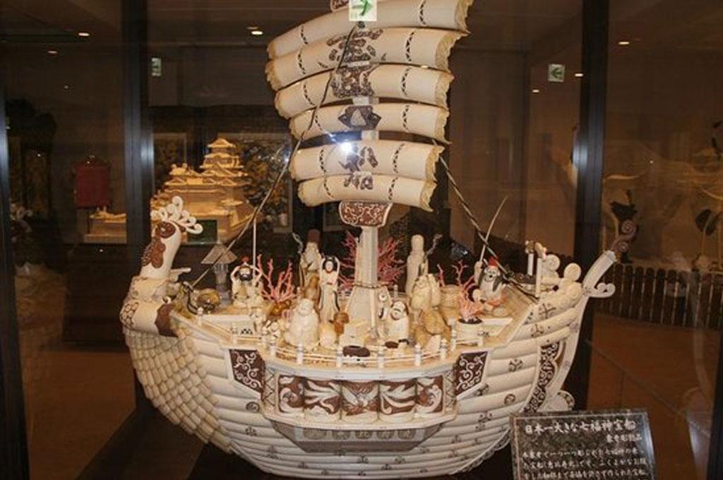 상아 조각의 역사、일본